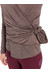 YogiYogini Sweden W's Twist Sweater Earth Brown